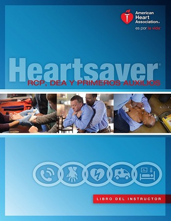 Spanish Heartsaver First Aid CPR AED Instructor Manual