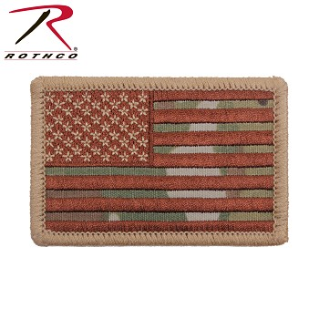 Multicam U.S. Flag Patch