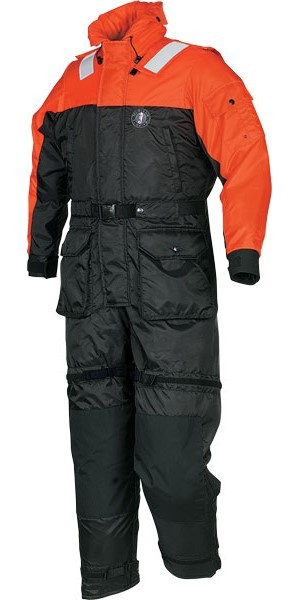 Deluxe Anti-Exp Coverall, XXL (OR/BK)