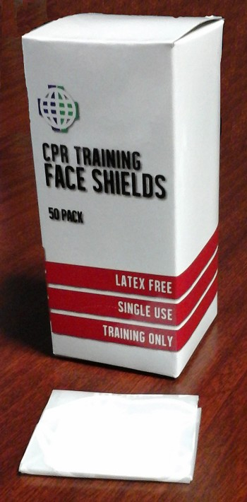 CPR Practice-Shield Manikin Face Shields (50 per box)