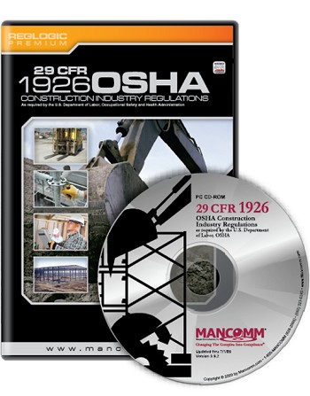 OSHA Construction CFR 126 Standards and Regulations - CD
