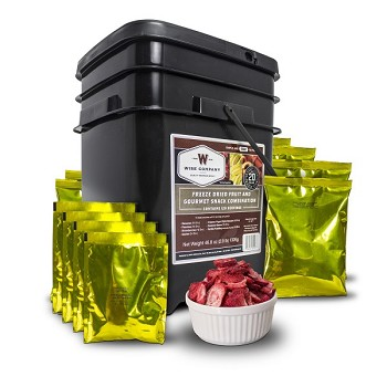 240 Serving Freeze Dried Fruit Combo
