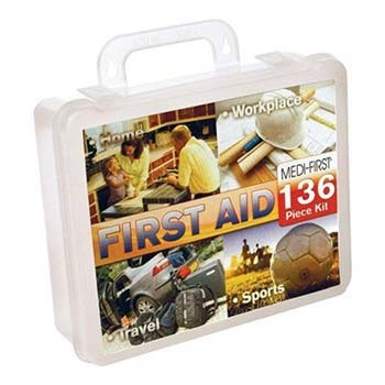 Medi-First Multi-Purpose 136-Piece First Aid Kit