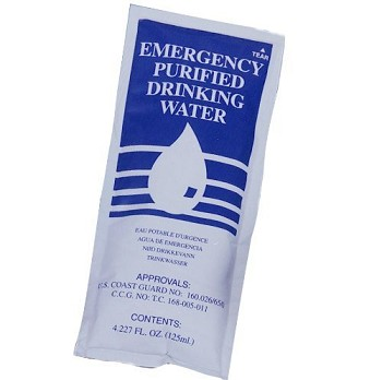 SOS Emergency Water Packet