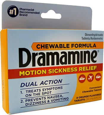 Dramamine Chewable, Pkg./8