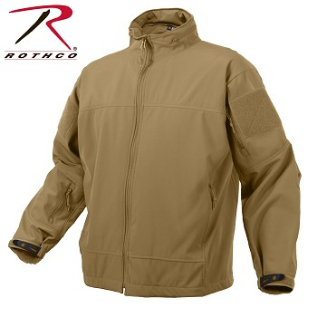 Coyote Lightweight Soft Shell Jacket