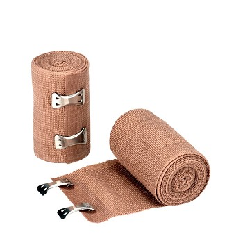 "Elastic Bandage (Ace) with 2 Fasteners (3"" x 5 yds, Latex Free)"