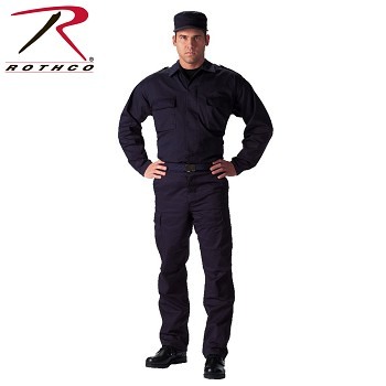 Navy Blue Tactical B.D.U. Shirt
