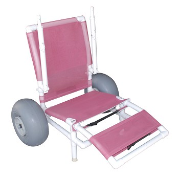 2 Wheel Low All Terrain Chair made from PVC