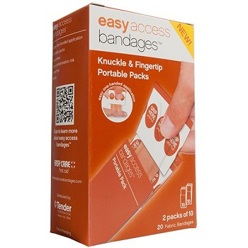 Easy Access Knuckle Fingertip Bandages (20 count)