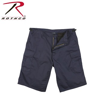 Navy Blue Xtra Long BDU Shorts