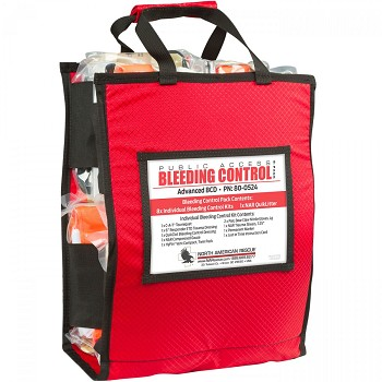 Public Access Bleeding Control - Vacuum Sealed (8 Pack)