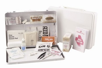 Medi-First Plus 50 Person Plastic First Aid Kit