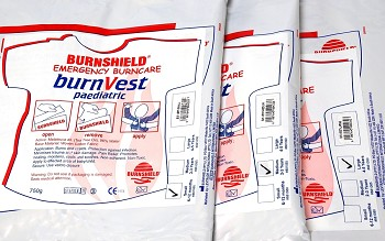 BurnVest: 4-5 years