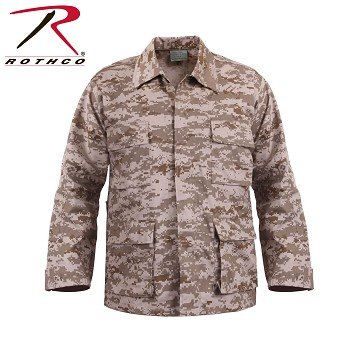 Desert Digital Camo B.D.U. Shirt