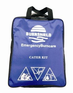 Cater Burn Kit in Nylon Bag