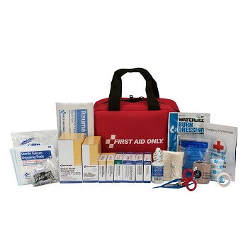 50 Person First Aid Kit, ANSI A+, Fabric Case