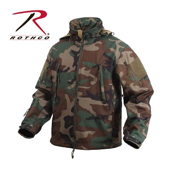 Woodland Special Ops Soft Shell Jacket