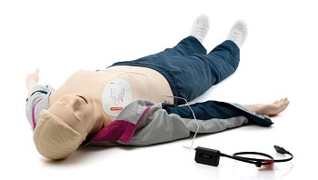 RA-Simulator AED-LINK, IV-arm right, BP-arm left; includes ShockLink