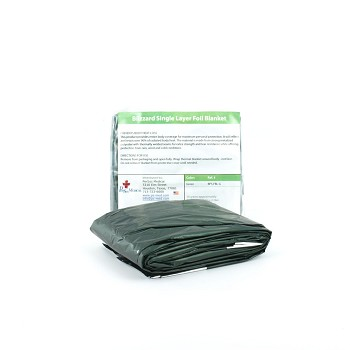 PerSys Blizzard Survival Foil Blanket - Green