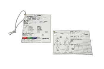 Tactical Combat Casualty Care Documentation Card (Marine Corps Edition) (Pack of 10)