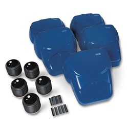CPR Prompt� Compression Chest Manikins � Pack of 5 � Blue
