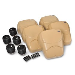 CPR Prompt Compression Chest Manikins Pack of 5 Tan