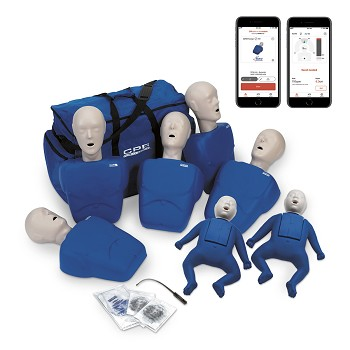 CPR Prompt® Plus Complete TPAK700 7-Pack powered by Heartisense® (Tan or Blue)