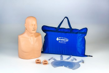 Training Man: Two-in-One CPR Manikin with carry bag