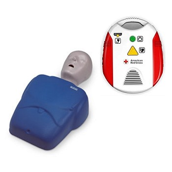 Starter Instructor Package #1: CPR Prompt Manikin + Red Cross AED Trainer