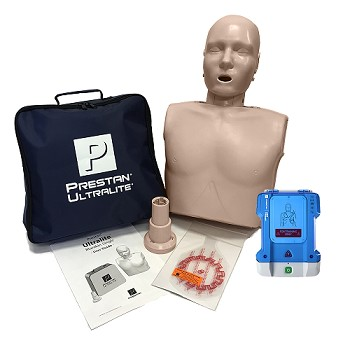 Single Prestan Ultralite  + AED Trainer