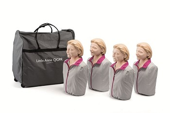 Little Anne QCPR 4-pack