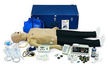 Deluxe Plus CRiSis Manikin - ECG - CPR Monitoring - Advanced Airway Management