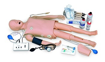 Complete Child CRiSis Manikin with Advanced Airway Management