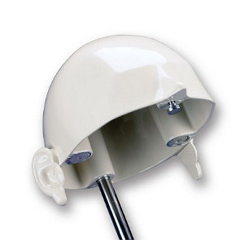 AH-1-AE Aluminum Cranium with anatomical ears for use with Magnetic Quick Disconnect Manikin