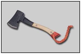 Hatchet with Lanyard