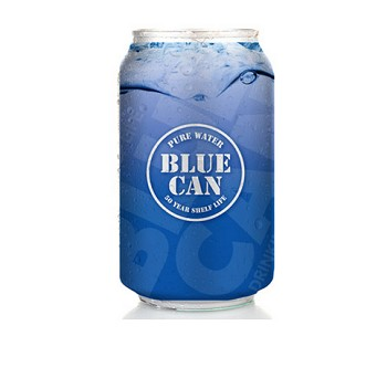 Pure Water Blue Can-Pallet