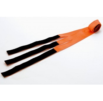 KEMP USA HOOK AND LOOP SPINE BOARD STRAPS - ORANGE
