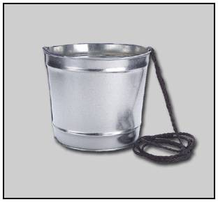 10 Qt Bucket with Lanyard