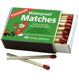 Waterproof Matches - Box of 40