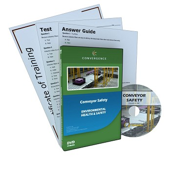 Convergence Training DVD: Conveyor Safety