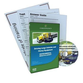 Convergence Training DVD: Driving Large Vehicles and Heavy Equipment