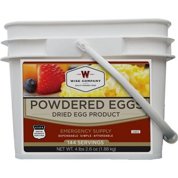 144 Servings of Wise Powdered Eggs
