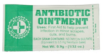 Antibiotic Ointment Packets