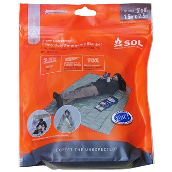 SOL® Heavy Duty Emergency Blanket