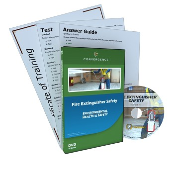 Convergence Training DVD: Fire Extinguisher Safety