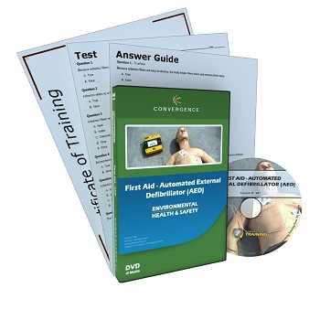 Convergence Training DVD: First Aid - Automated External Defibrillator (AED)