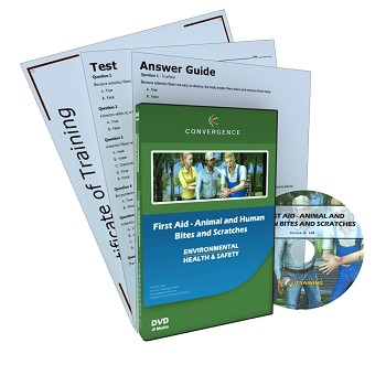Convergence Training DVD: First Aid - Animal and Human Bites and Scratches