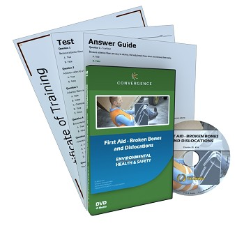Convergence Training DVD: First Aid - Broken Bones and Dislocations
