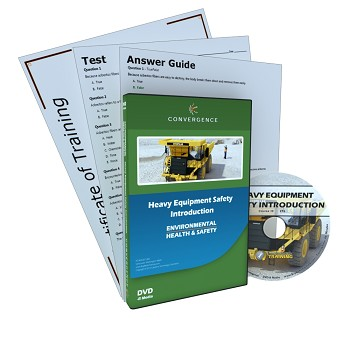 Convergence Training DVD: Heavy Equipment Safety Introduction